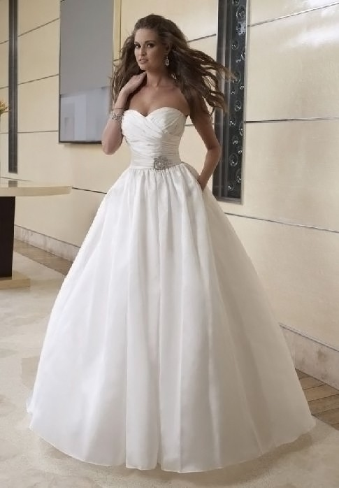 in 1 wedding dresses 448 tulle strapless straight ball gown wedding