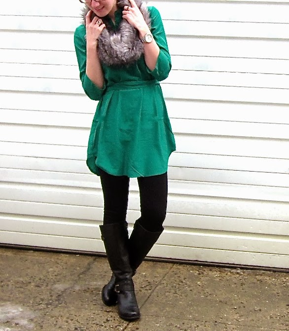 Tunic: Winter to Spring