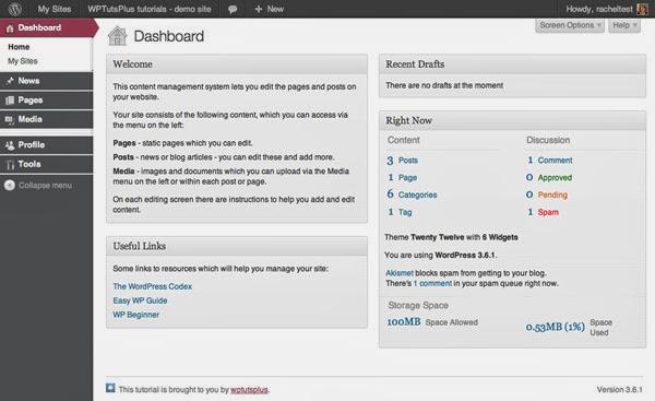 Customizing the WordPress Admin – Adding Styling