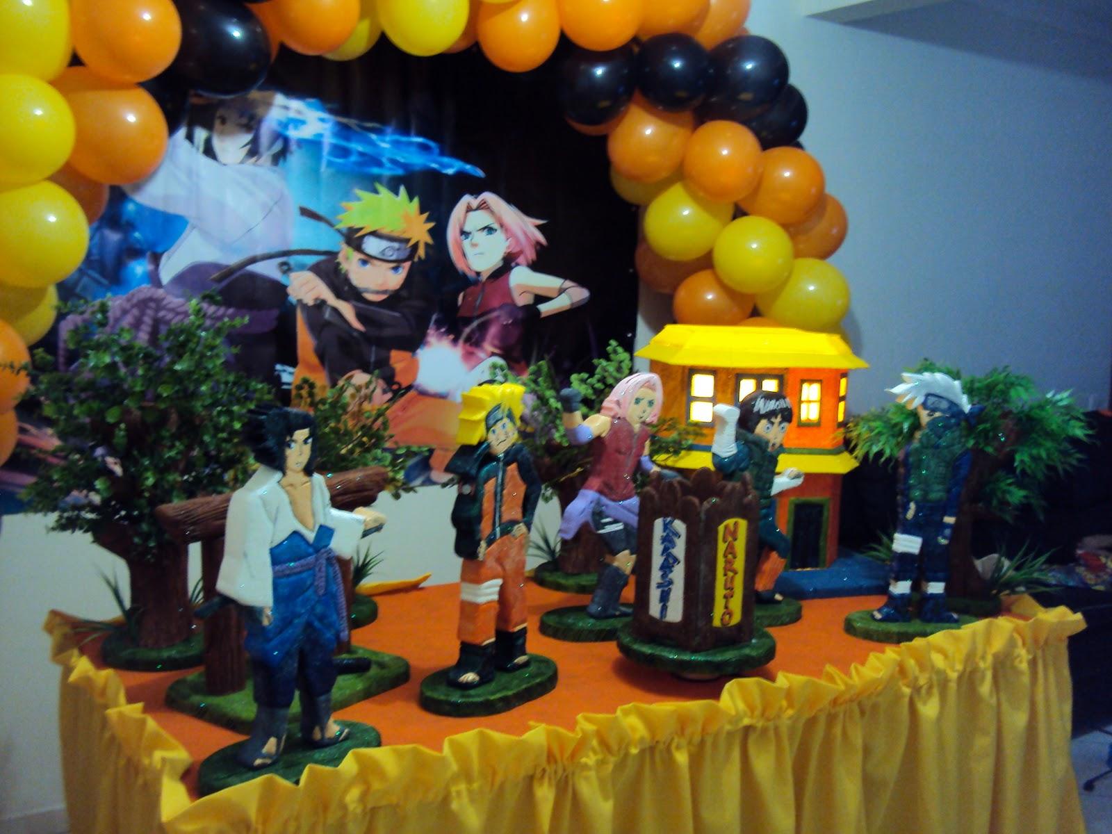 decoracao festa naruto:Postado por Sonho Real Decorações Infantis às 08:17