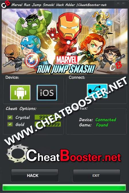 Marvel Run Jump Smash Cheats