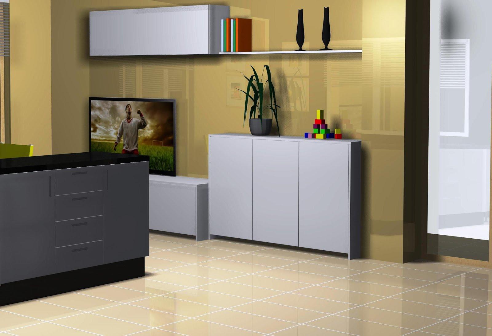 Muebles zona de la tele