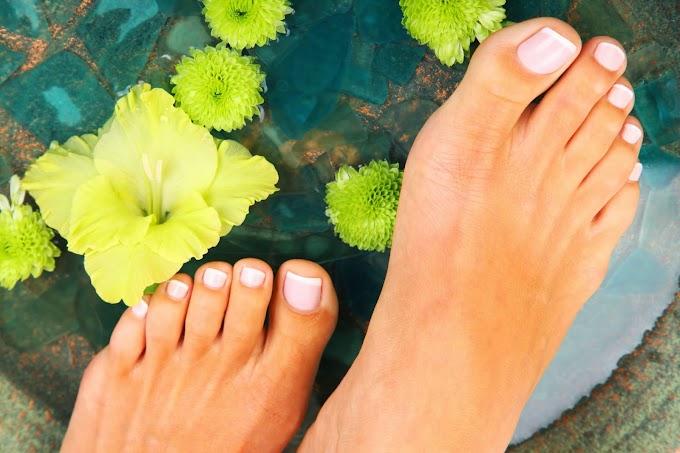 Luce unos pies perfectos