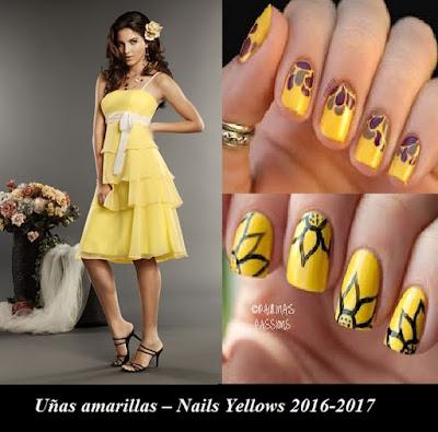 Uñas amarillas – Nails Yellows 2016-2017