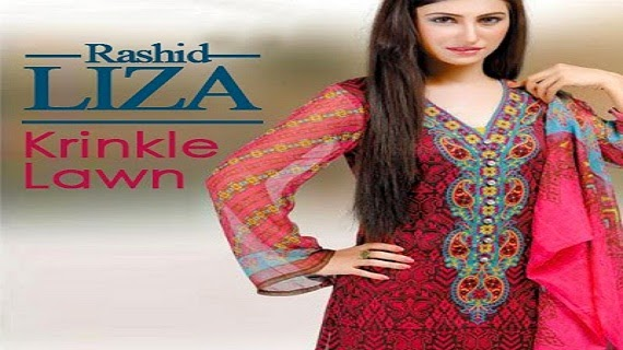 Liza Krinkle Lawn Summer Collection 2014 Vol-3