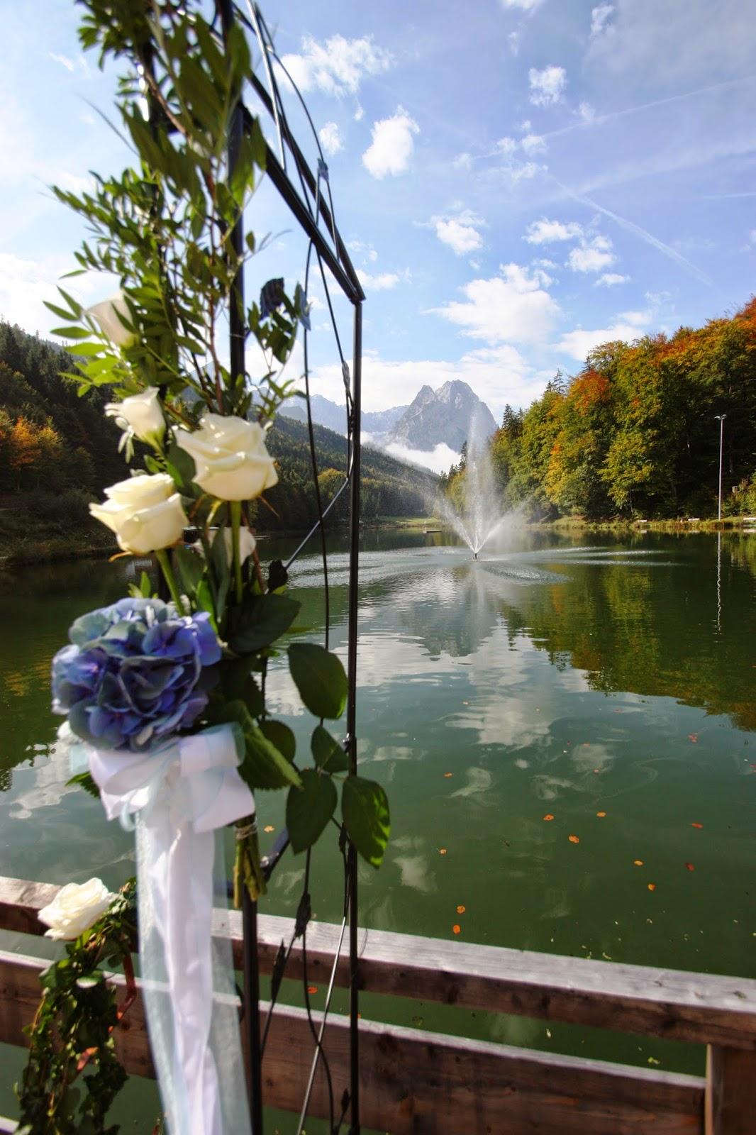 Herbsthochzeit am Riessersee