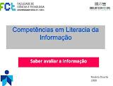 Competências em Literacia da Informação- Saber Avaliar a aInformação
