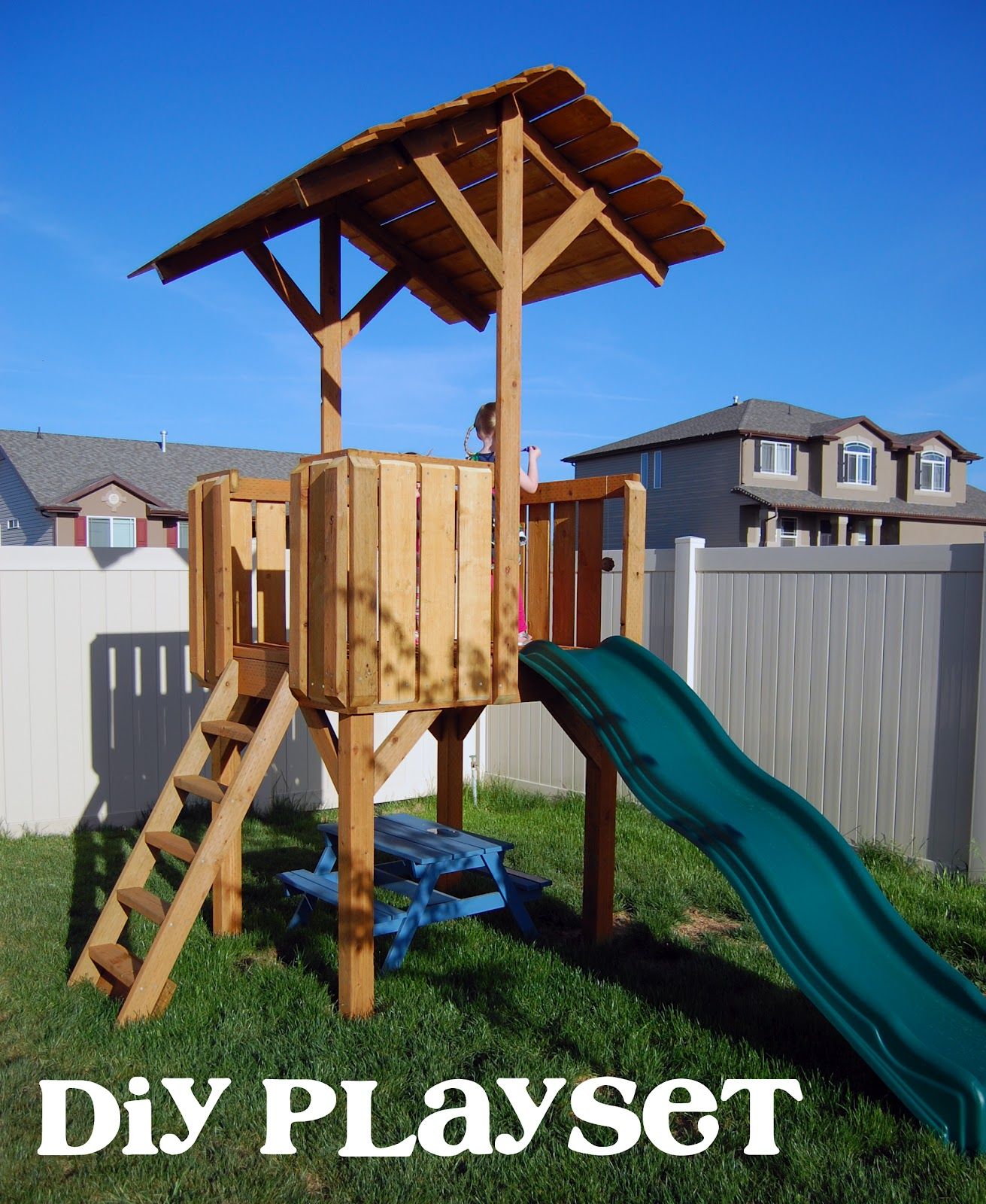 The audzipan anthology diy backyard playset phase one for Diy play structure