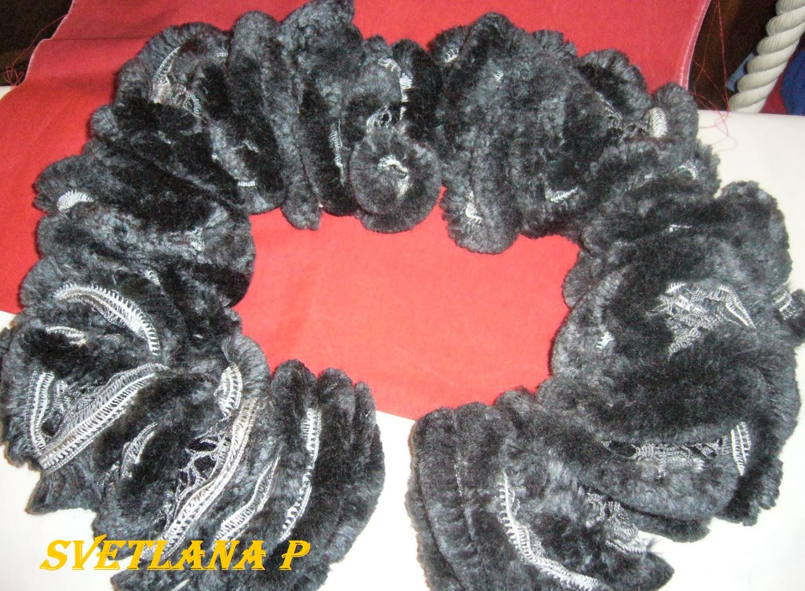 Меховой шарф (88 фото длинные и короткие модели) 20