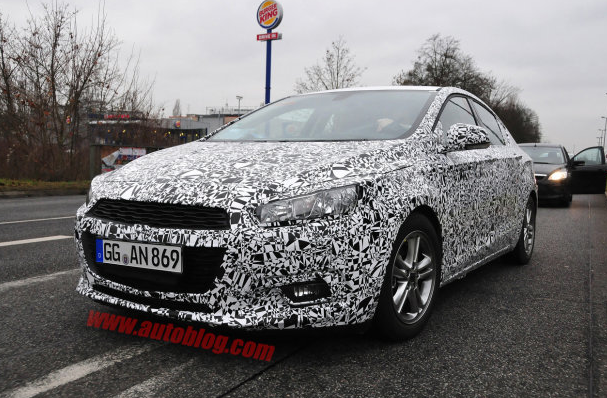 2015 Chevy Cruze Spy Photos