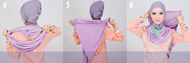 Cara Memakai Jilbab Simple Tapi Menarik