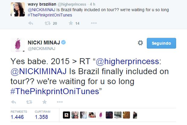 Nicki Minaj concert in Brazil