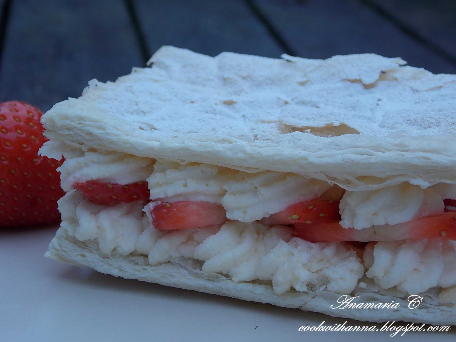 Strawberry Mille-Feuille