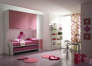 hermoso dormitorio para hermanas