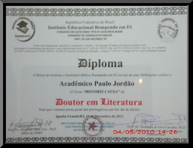 Diploma Dr. Honoris Causa