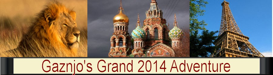 Gaznjo's Grand Adventure 2014