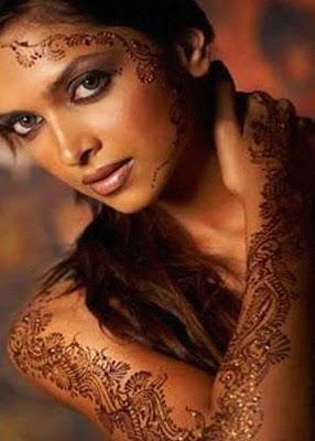 Full Hand Mehndi Tattoo For Girls
