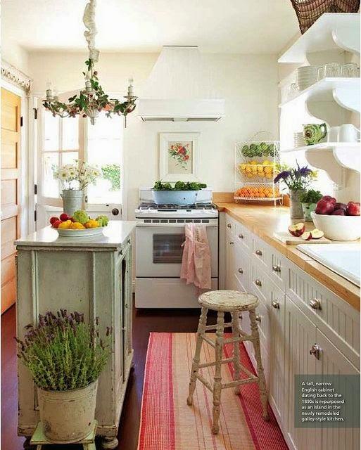 Gezellige Kleine Keuken : Charming Small Kitchen