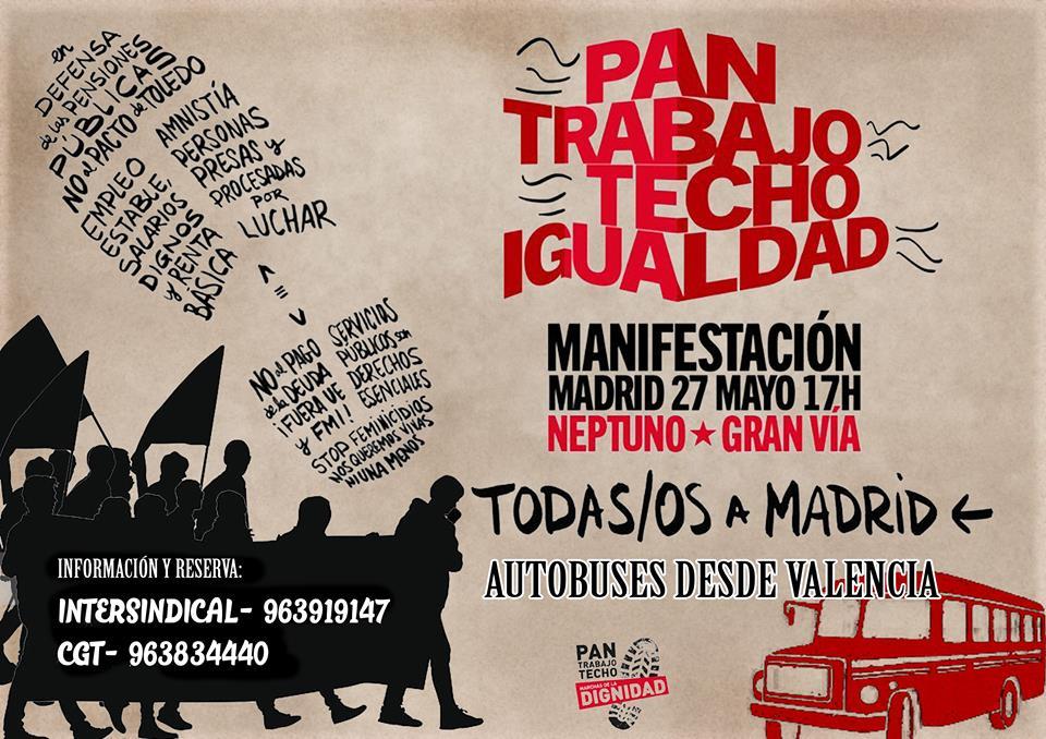 La Marcha de la dignidad vuelve a Madrid