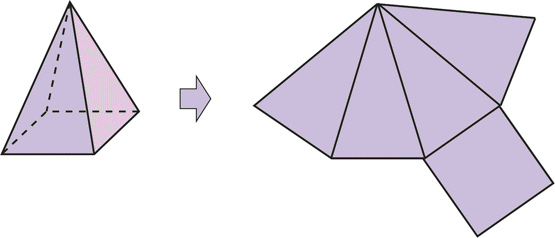 Figuras geométricas piramides - Imagui