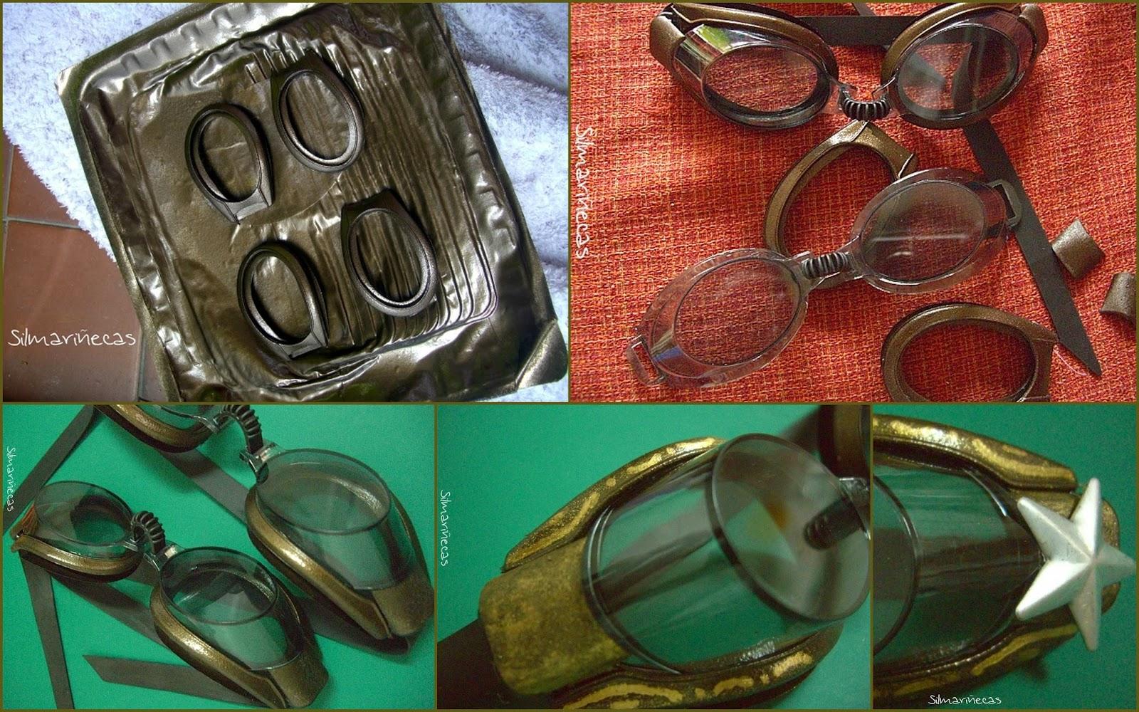 tutorial cómo hacer gafas steampunk diy-