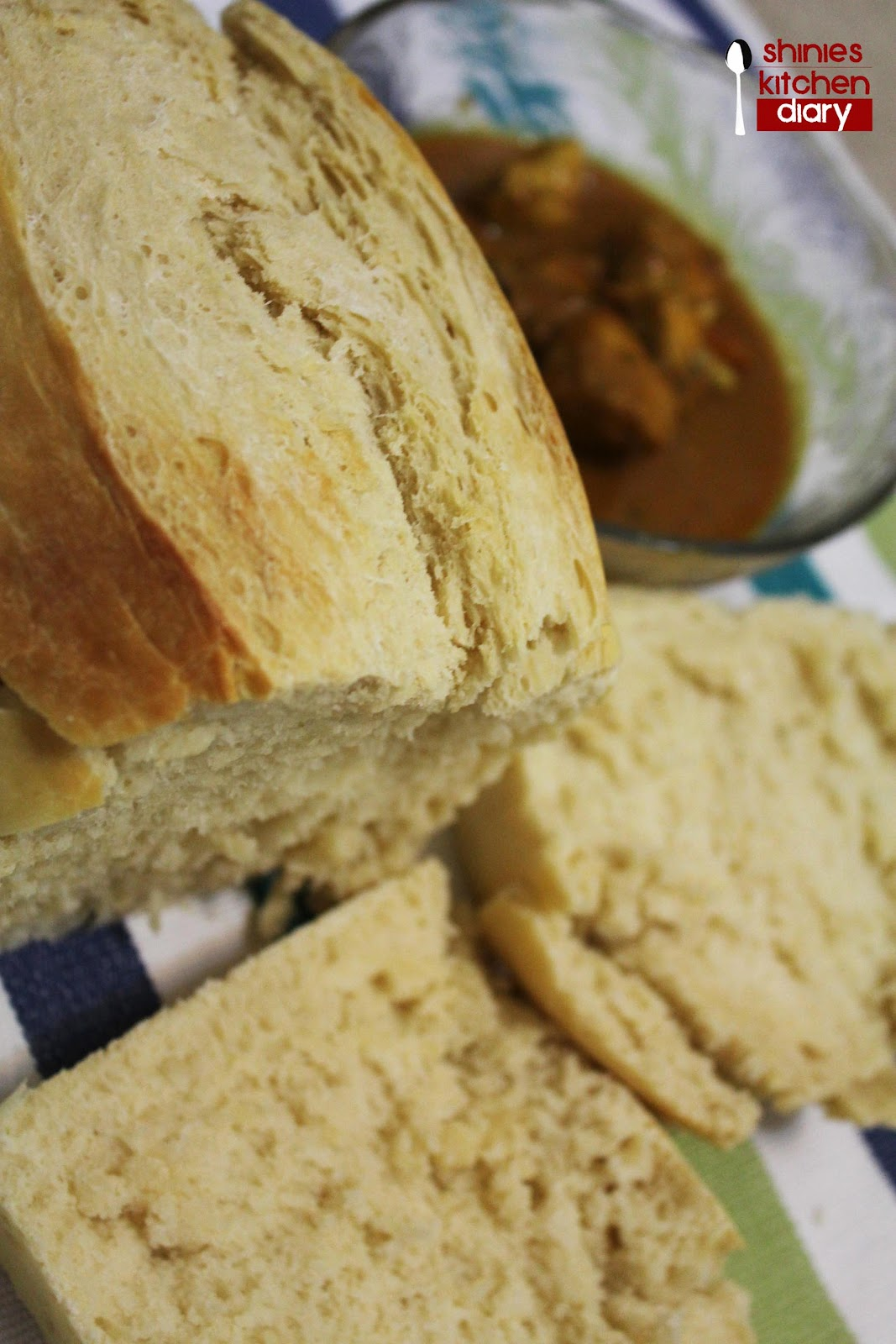 Serve while hot. Its just fresh from the oven. This bread can be ...