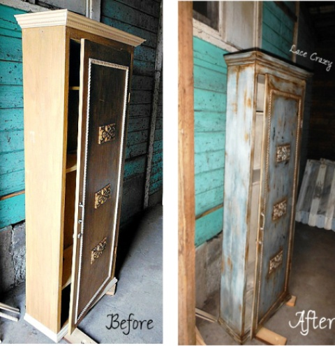 Furniture Redo's. - Lace Crazy: Furniture Redo's...