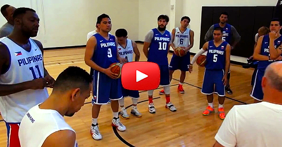 GILAS PILIPINAS Miami Training Camp - Day 2 (HD VIDEO)