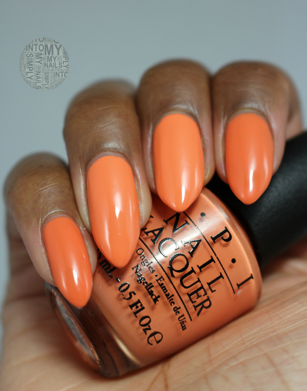 OPI Gelcolor Where Did Suzi\'s Man-go? | Simply Into My NAILS