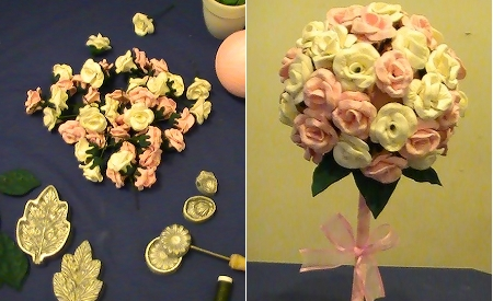 Arreglo de flores en goma eva tattoo design bild - Flores de goma eva ...