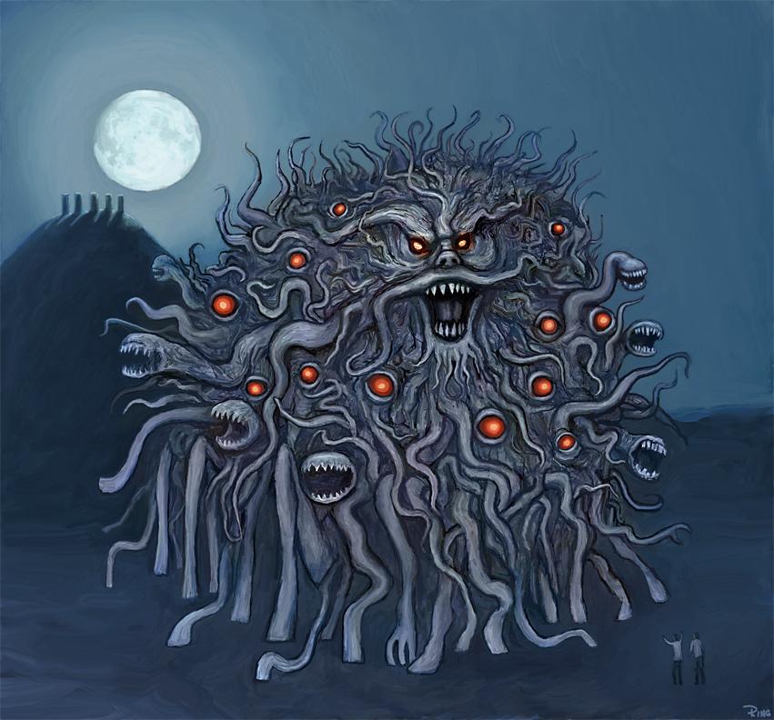 The Dunwich Horror by andrewtodaro on DeviantArt