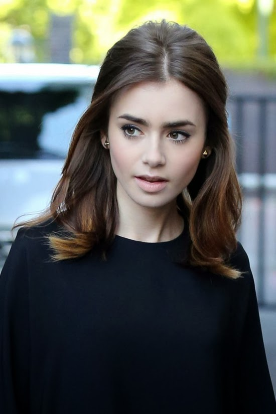 Simple Makeup - Lily Collins || Sprinkles and Style
