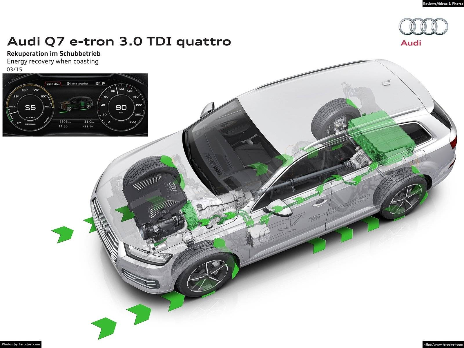 Hình ảnh xe ô tô Audi Q7 e-tron 3.0 TDI quattro 2017 & nội ngoại thất