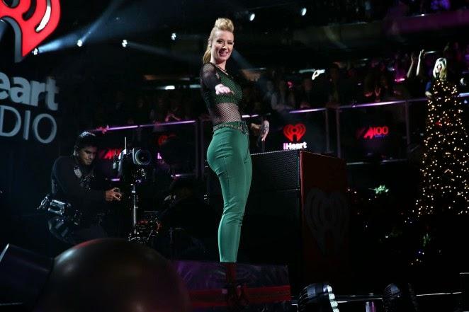 Iggy Azalea shows - 2014 Z100s Jingle Ball in New York City