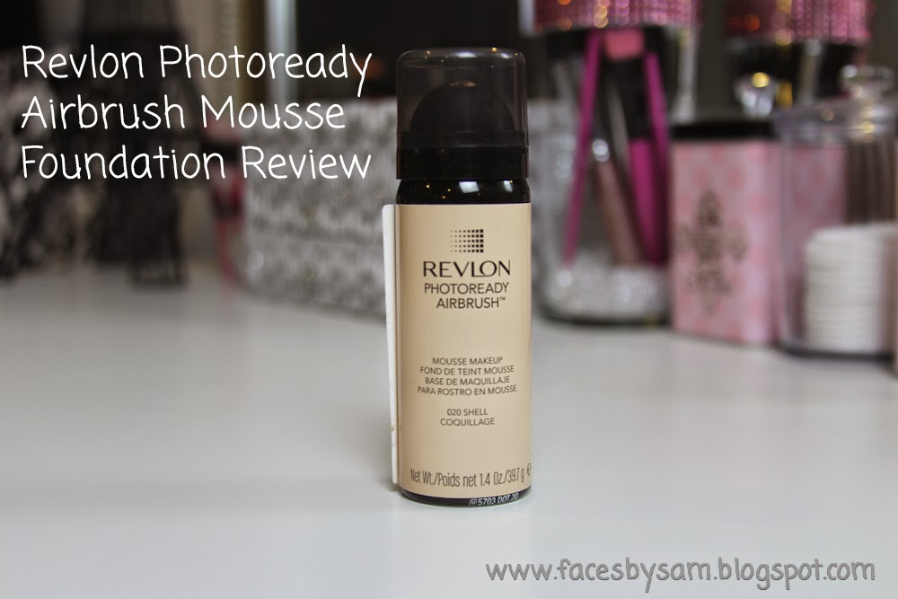 Revlon Photoready Airbrush Mousse Foundation Review