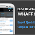 Whaff Rewards - Saldo Google Playstore dan Pulsa Gratis