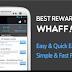 Whaff Rewards - Saldo Google Playstore dan Pulsa Gratis