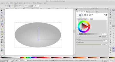 Inkscape - aplicando gradientes