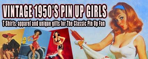 VINTAGE 50s PIN UP GIRLS