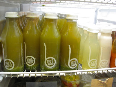 Cold Pressed Juices, Paris at Bob's Ktichen