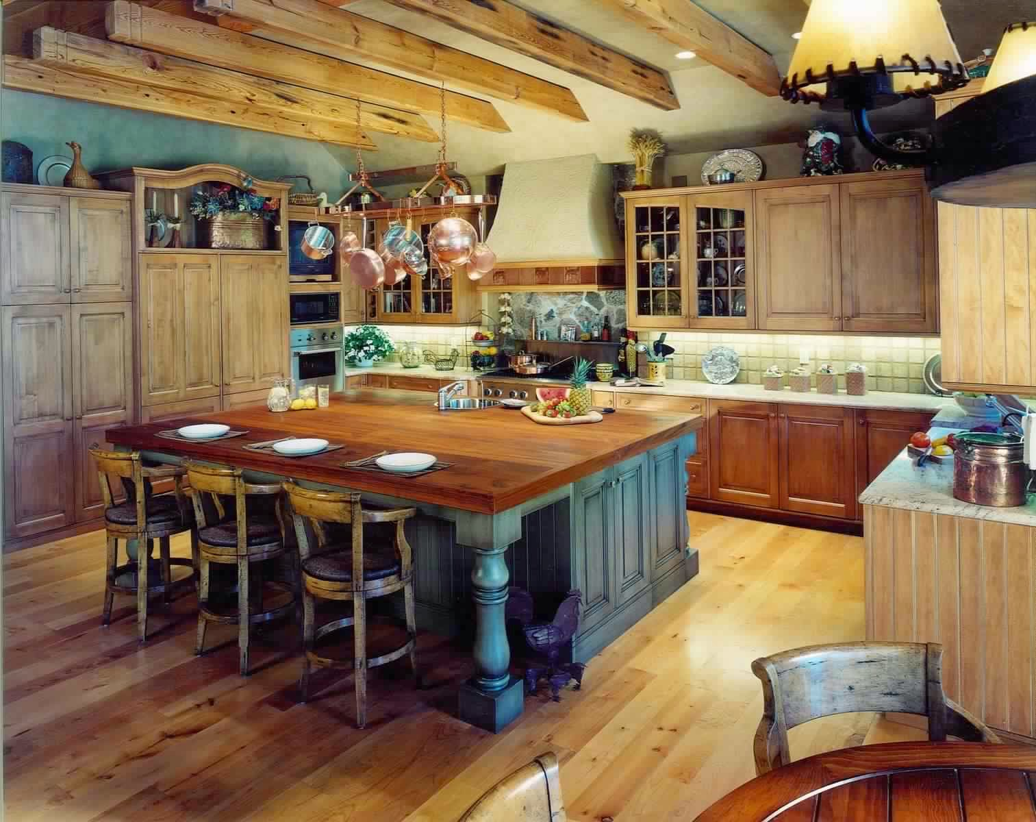 Meubles de cuisine campagnard