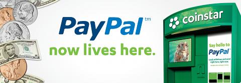 Coinstar et PayPal