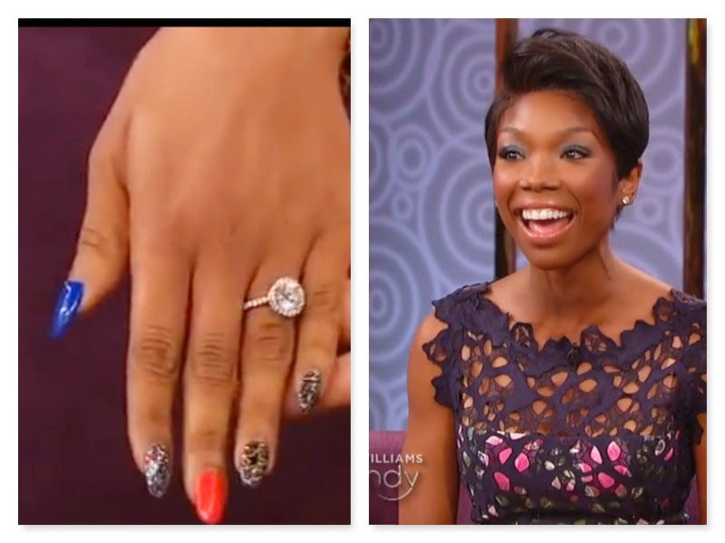 is there a such thing as giving an engagement ring back while brandy would not tell wendy williams what happened to her engagement ring once the wedding - Wendy Williams Wedding Ring