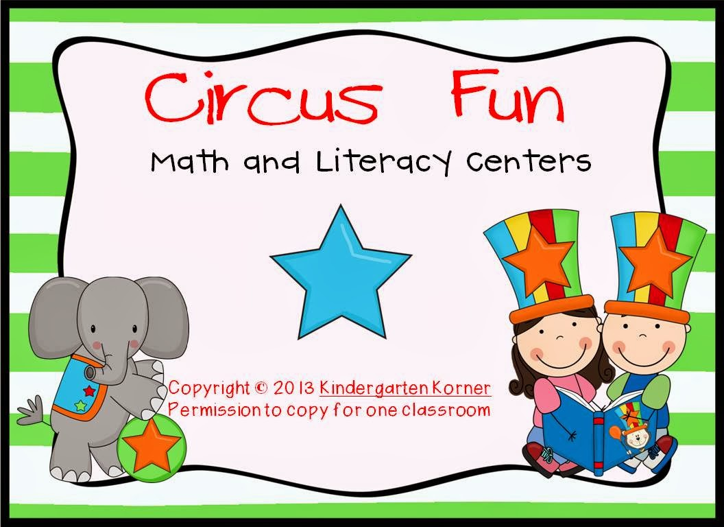 http://www.teacherspayteachers.com/Product/Circus-Fun-Math-and-Literacy-Centers-206839