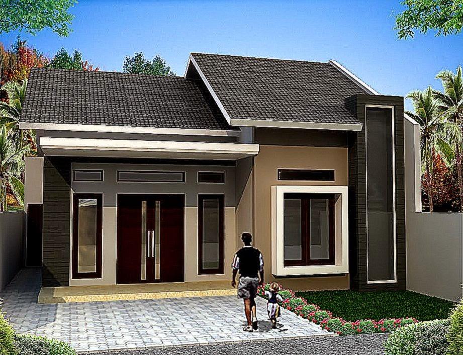 Contoh Rumah Sederhana Cantik Type 54 2015   Desain Gambar Rumah