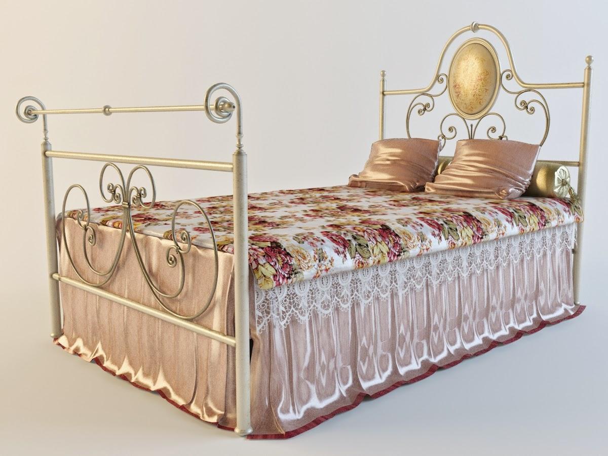 موديلات 3d لسرير النوم وأشكال مختلفة GIUSTI+PORTOS_Caroli