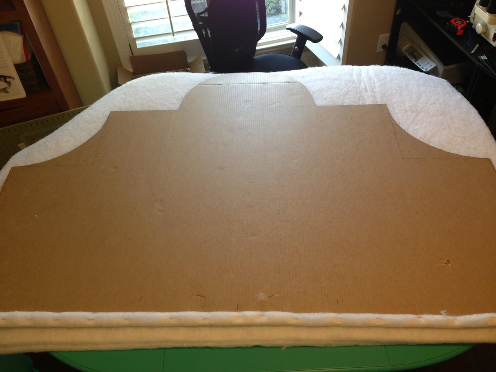 Part 1 Diy Headboard Using Cardboard Instead Of Wood