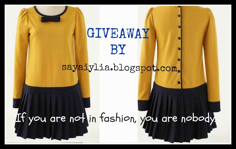 GIVEAWAY BY SAYAIYLIA LADY'S CABINET  SHOPPE