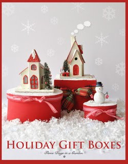DIY Holiday Gift Boxes