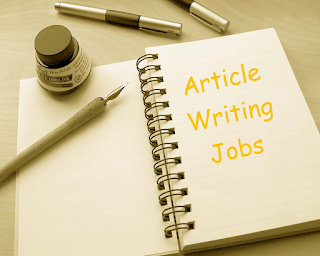 Articles writing jobs